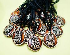 10 PCS Rare Taino Culture Embossed Goddess Male Cool Fashion Necklace