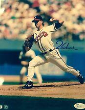 Tom Glavine Atlanta Braves 95 World Series Champ Signed 8x10 Photo JSA Authentic