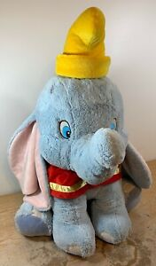 "rare vintage 1989 official disney store giant 28"" dumbo plush stuffed animal"