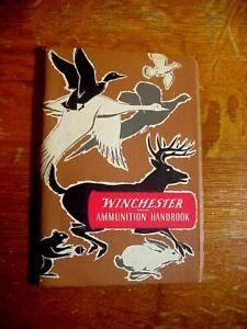 WINCHESTER AMMUNITION HANDBOOK Second Edition 1951 BOOKLET
