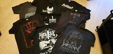 More details for black metal t shirt bundle darkthrone watain isengard batushka marduk judas