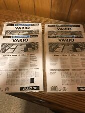20 NEW VARIO 2C stock pages For Stamps Money Collection (clear sheets)