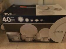Mikasa American Countryside 40-Piece Dinnerware Set, Service for 8