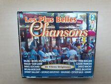 2 x CD : Les plus belles chansons (Dalida, Delpech, Hervé Villard, ...)