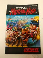 The Legend of the Mystical Ninja SNES Super Nintendo Manual ONLY