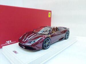 Ferrari 458 Speciale A Rubino Micalizzato MR COLLECTION 1/18 #FE012C