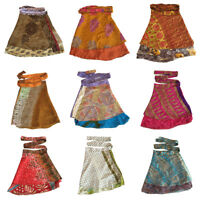 Indian Skirt Wrap Around Rapron Printed Cotton Long Skirt Women Ethnic Floral