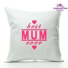 Best Mum Ever Cushion, Mother's Day Present, Mother's Day Gift, Best Mum Pillow