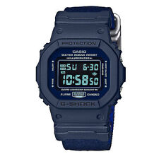 G-Shock Men's Digital DW5600LU-2 Watch Blue Alarm Timepiece Sports Apparel