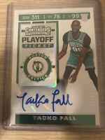 TACKO FALL 2019-20 Panini Contenders Playoff Ticket AUTO Rookie RC # /99 CELTICS