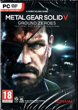 Metal Gear Solid V Ground Zeroes Uk PC Steam key only
