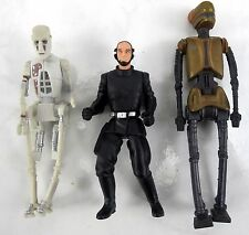 Star Wars 3.75'' Kenner Death Star Trooper / 8D8 & EV-9D9 Action Figures 1998