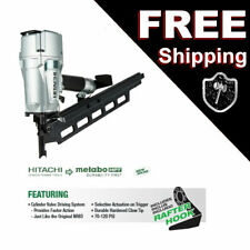 Hitachi Metabo Hpt Nr83A5(S) Plastic Collate Round Head Pneumatic Framing Nailer