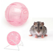 12cm Colorful Run-About Exercise Ball Clear Hamster Mouse Rate Plastic Toy New