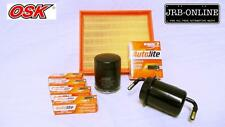 MAZDA B2600+BRAVO 2.6L G6 AIR OIL FUEL FILTER SERVICE KIT+SPARK PLUGS  91 - 99