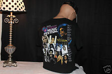 PRINCE EXTREMELY RARE CONCERT SHIRT 2014 ESSENCE MAIN STAGE FESTIVAL NEW ORLEANS
