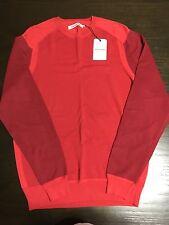 Ben Sherman Men's Red Sweater Size Medium