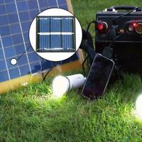 Mini Solar Panel Module For Battery Cell Phone Charger DIY V3E7