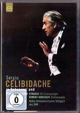 DVD CELIBIDACHE In Rehearsal and Performance RIMSKY-KORSAKOV Sheherazade STRAUSS