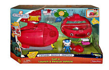 NEW Fisher-Price Octonauts Gup X Launch & Rescue Vehicles MIB Factory Sealed