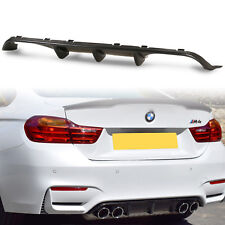 Carbon Fiber M Style Rear Diffuser Quad Exhaust For BMW F80 M3 F82 F83 M4