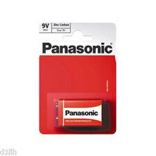 Panasonic 6f22rz/1bp Standard Zinc Pp3 9v Battery Carded 1