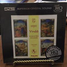Vivaldi: Le Quattro Stagioni I Musici, Felix Ayo UHQCD CD,  Philips NUMBERED 349