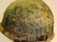 TUNNEL RAT HAT LAPEL PIN UP US ARMY MARINES NAVY AIR FORCE VIETNAM WAR VETERAN