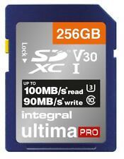 256GB Premium SDXC V30 UHS-I U3, Leere Media Flash Memory Typ SDHC Für INTEGRAL
