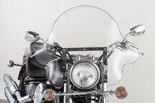 Parabrezza universale modello large per Harley Davidson e moto custom