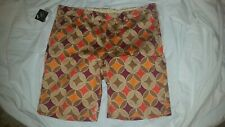Loudmouth Havercamps Golf Shorts Size 40 NWT Tan Brown