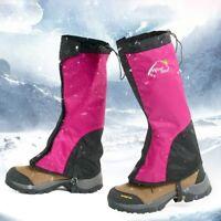 Legging Ski Warmers Waterproof Gaiters Leg Snow Hiking Cycling Climbing Trekking