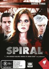 Spiral : Series 3 (DVD, 2012, 3-Disc Set) Top SBS Euro-crime drama!