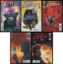 Star Wars Lando Comic Set 1-2-3-4-5 Lot Calrissian Palpatine Sith Star Destroyer
