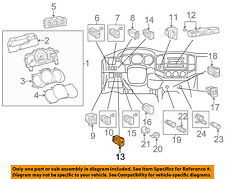 TOYOTA OEM 12-15 Tacoma Dash Cluster Switch-Stab Cntl Switch 8498804090