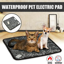 Pet Electric Heat Warmer Heated Heating Heater Pad Mat Blanket Bed Dog Cat Bunny