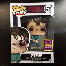 Funko POP Stranger Things Steve Bloody SDCC Convention Exclusive 2017