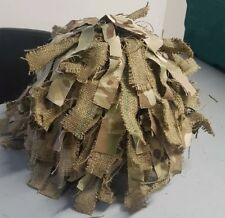 New M/L Tailor Made British Army MK7 Helmet Cover Hessian - Camouflage - Airsoft