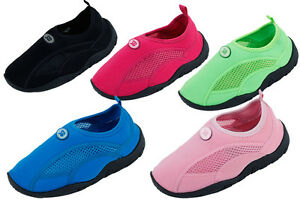New Kids Youth Athletic Mesh Water Shoes Pool Beach Aqua Socks