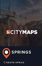 City Maps Springs South Africa by James McFee (2017, Paperback)