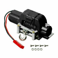 1:10 Electric Winch +Controller For Traxxas TRX4 Axial SCX10 D90 D110 TF2 KM2 RC