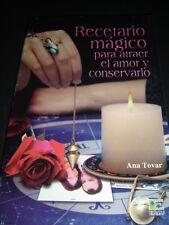 BOOK libro RECETARIO MAGICO PARA ATRAER EL AMOR Y CONSERVARLO