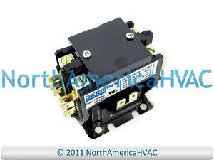 Double 2 Pole 30 Amp 120 volt Contactor Relay Siemens Furnas GE 61346 45EG20AF