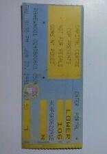 GUNS N ROSES & SKID ROW 1991 Ticket Stub Capital Center 6/20/1991