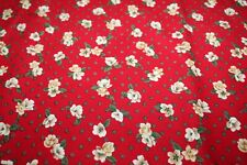 Rosa y hubble Marfil Piña Tela de la impresión 100/% Algodón Popelín
