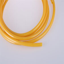 Compresor Amarillo 4mm*2.5mm Tubo De Manguera PU Tubo Gas Combustible Aire Neumático 20 M