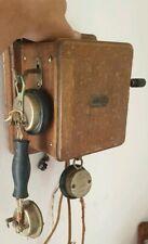 Ancien téléphone Murale Picart Lebas - old Phone