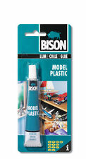Bison Model Plastic Adhesive Transparent Glue Craft Art Hobby 25ml Waterproof