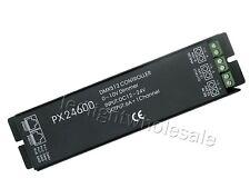 DMX512 Controller PX24600 12-24V 0-10A Dimmer For Led RGB Strip Light Bulb CE