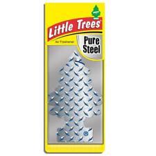 4 X pequeño árbol Mágico Ambientador Coche Puro Acero Freshner 2D
